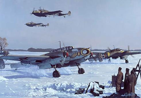 Messerschmitt BF-110 C 1/48 Eduard Captur52
