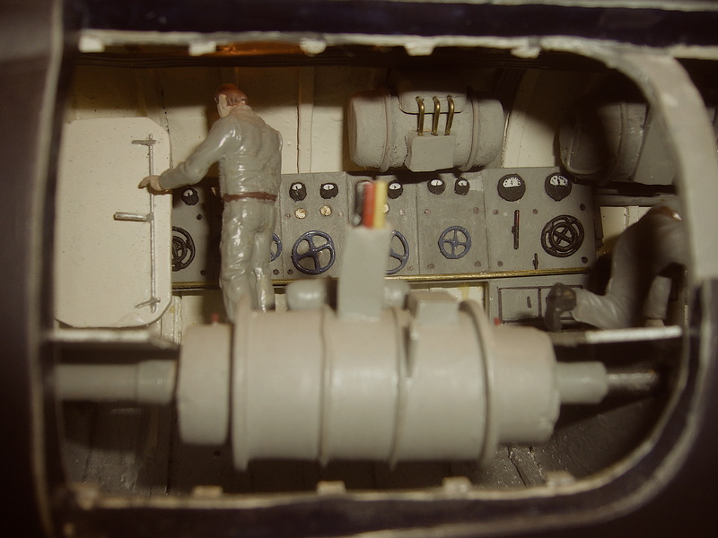 U VIIB / n° 100 Sur base U 47 Robbe P1190648
