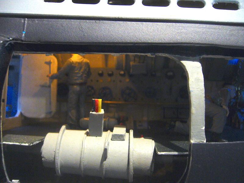 U VIIB / n° 100 Sur base U 47 Robbe P1190650