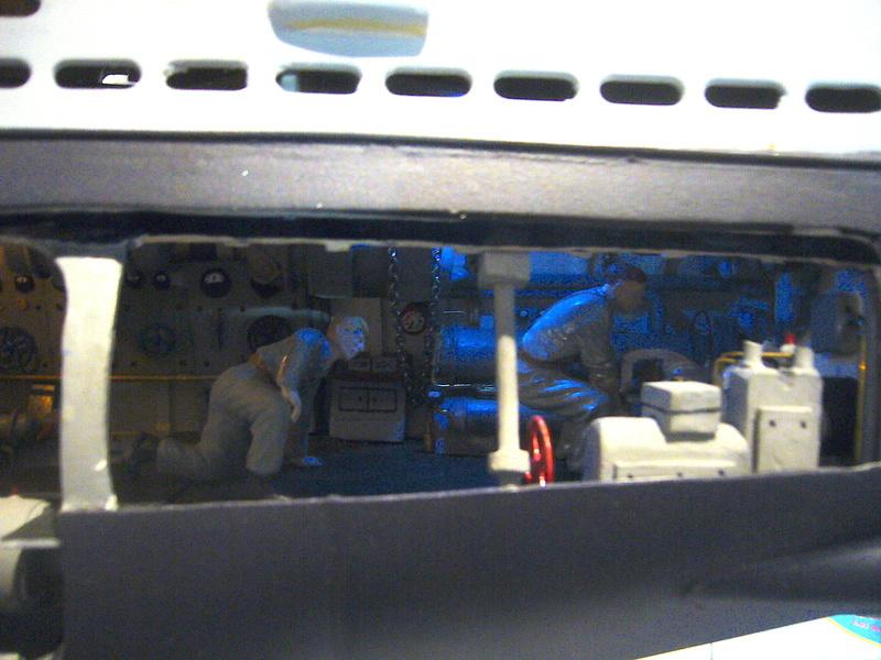 U VIIB / n° 100 Sur base U 47 Robbe P1190651