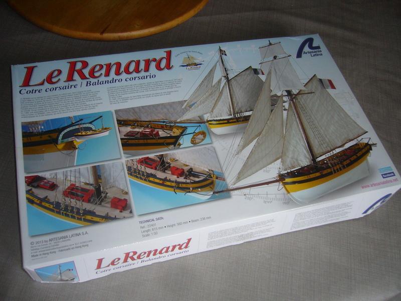Présentation de la boite du Renard d'Artesamia Latina. 1:50° P1190828