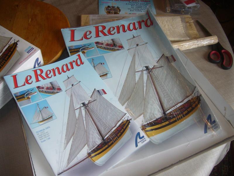 Présentation de la boite du Renard d'Artesamia Latina. 1:50° P1190845