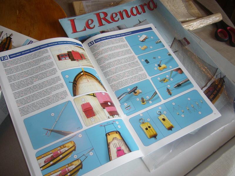 Présentation de la boite du Renard d'Artesamia Latina. 1:50° P1190846