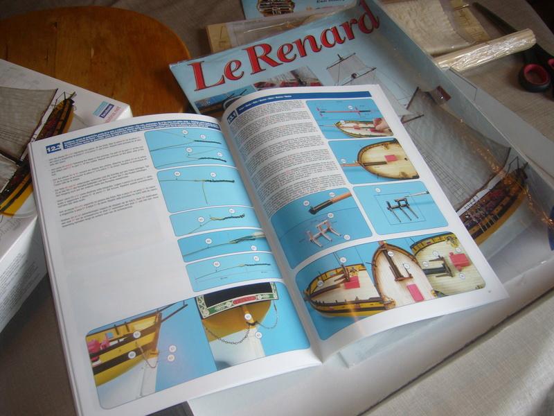 Présentation de la boite du Renard d'Artesamia Latina. 1:50° P1190849