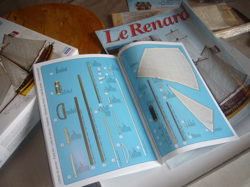 Présentation de la boite du Renard d'Artesamia Latina. 1:50° P1190853
