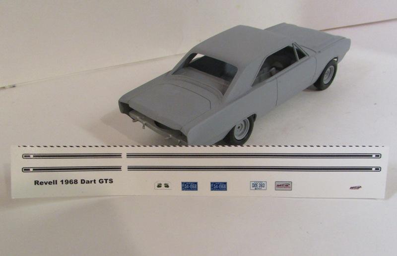 1968 Dodge Dart GTS  00811