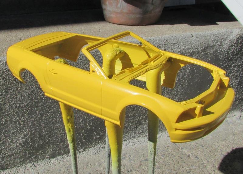 2006 Mustang GT décapotable 00912