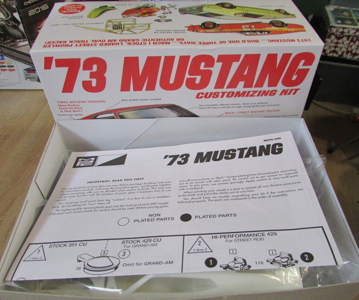 1973 Mustang de MPC  01712