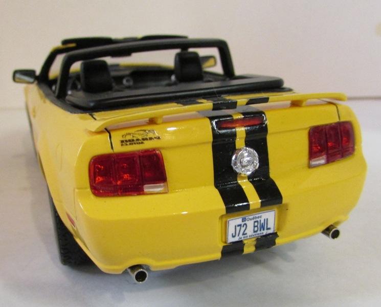 2006 Mustang GT décapotable 02213