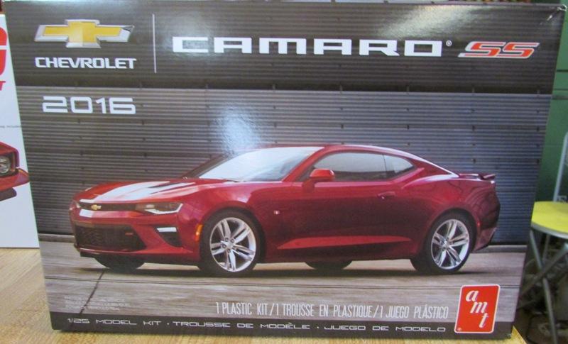 AMT 2016 Camaro SS 112