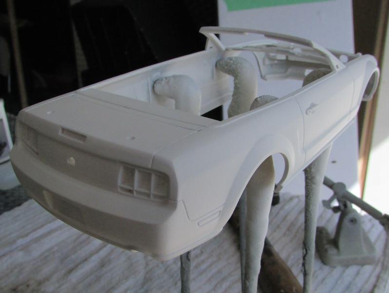 2006 Mustang GT décapotable, terminé 210