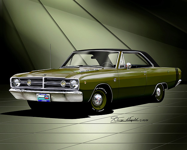 1968 Dodge Dart GTS  Item_510