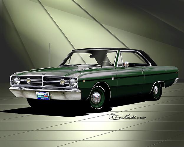 1968 Dodge Dart GTS  Item_511