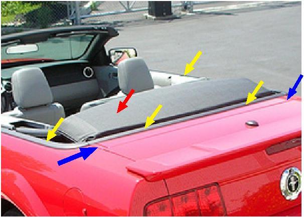2006 Mustang GT décapotable, terminé Replis10