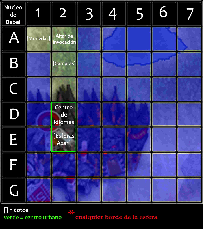Viajes por núcleo de Babel Mapa_n11