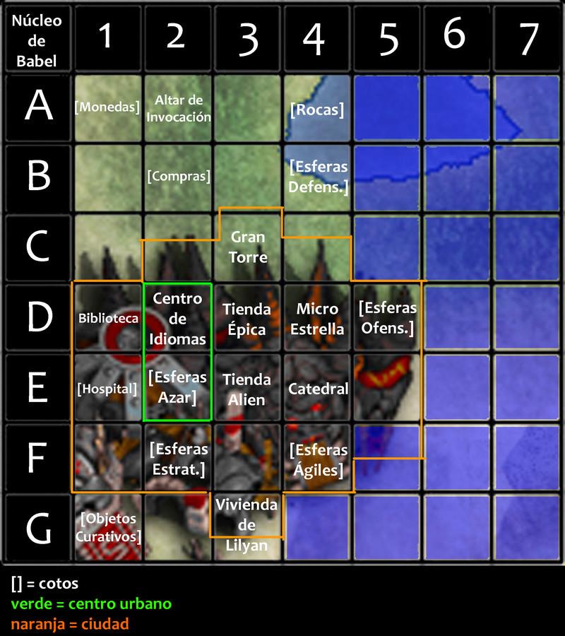 Viajes por núcleo de Babel Mapa_n18