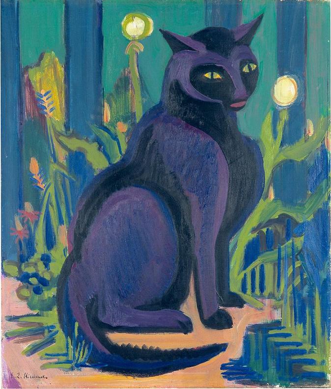 Ernst Ludwig Kirchner [Peintre] Black-10