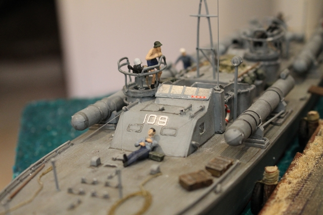 un pt boat au repos  Img_0744