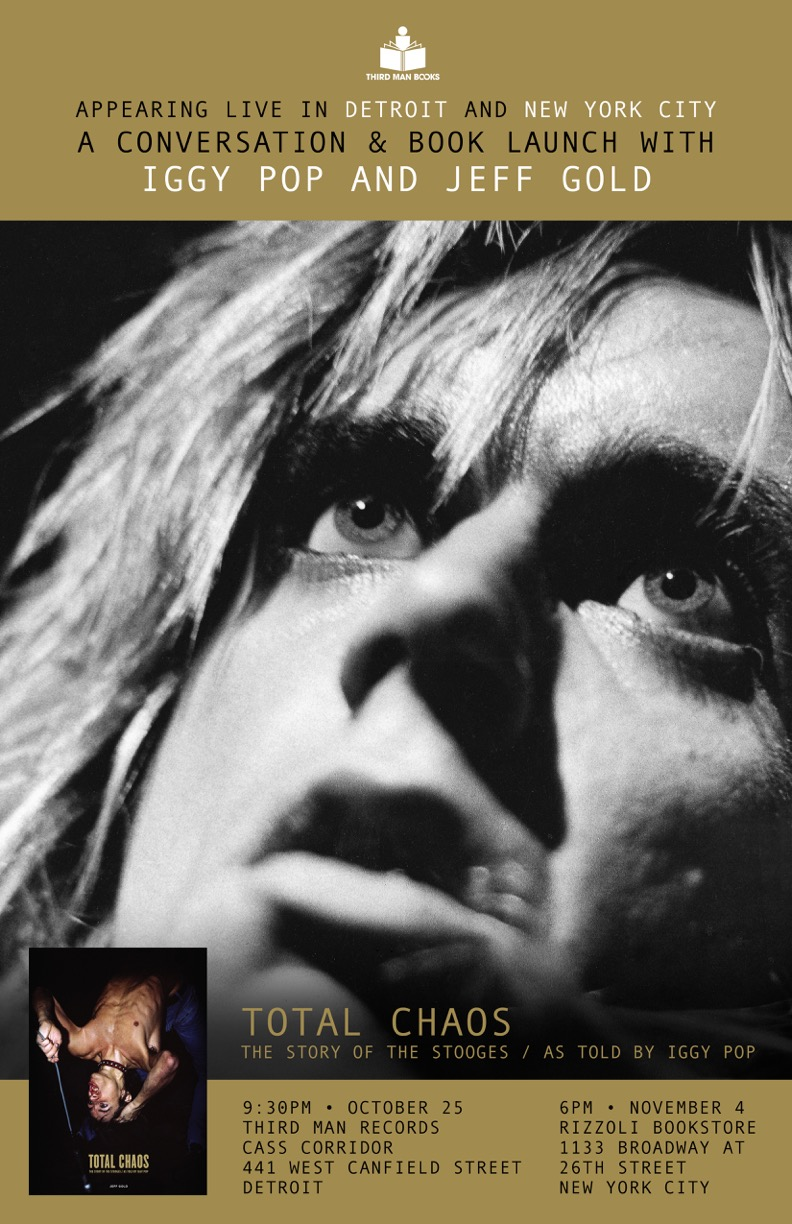 TOTAL CHAOS: The Story of The Stooges / As Told By Iggy Pop  Igbook10