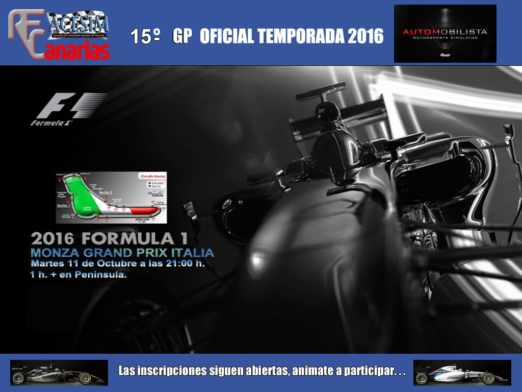 FORMULA ONE MONZA 2016 Gp_mon10