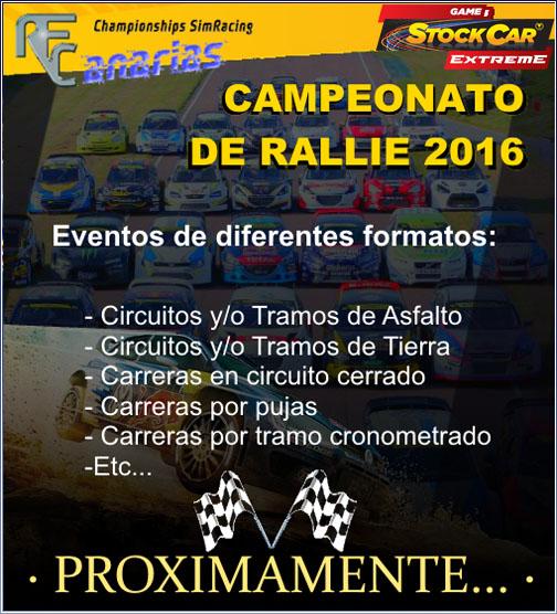 CAMPEONATO DE RALLY Y RALLY-CROSS 2016 Presen10