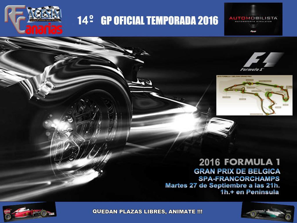 FORMULA ONE SPA-2016 Spa_2010