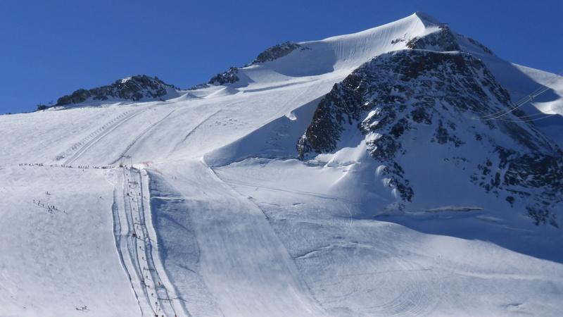 Le glacier de la Grande Motte à Tignes - Page 2 P1050220