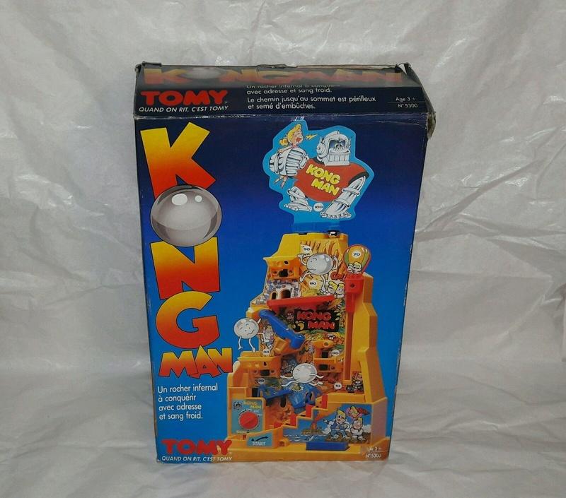 [Jeu de société] KONG MAN - Tomy - 1982 00110
