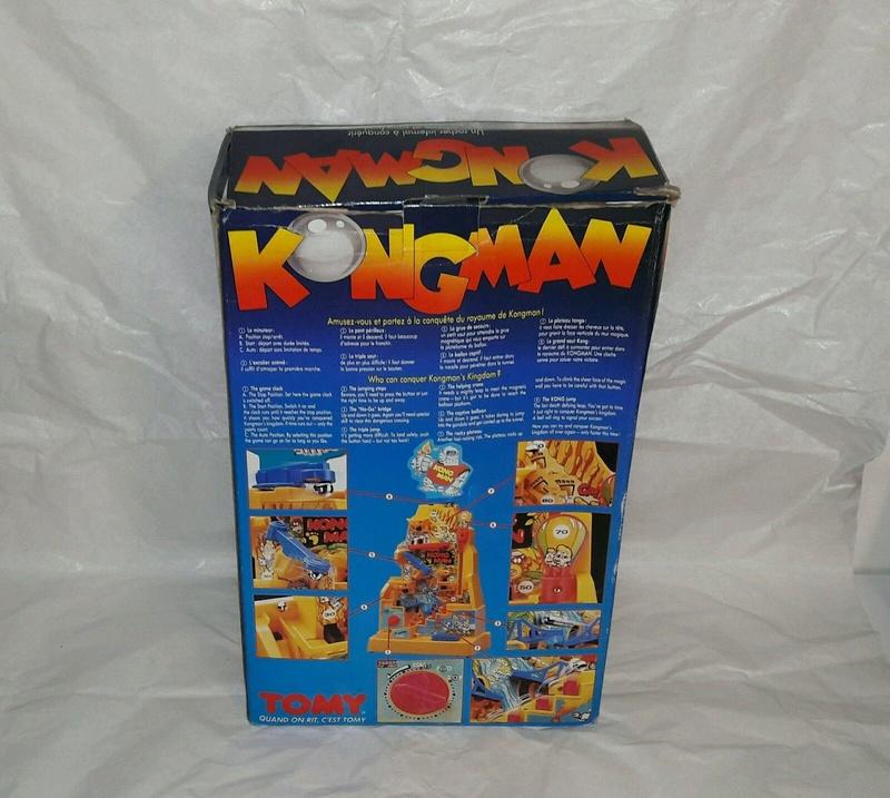[Jeu de société] KONG MAN - Tomy - 1982 00210