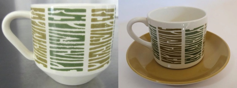Patterns from 3012 cups reused on various coffee cans: Focus, Motif, Conifer (and Talahasse vs Candy Stripe) Motif10