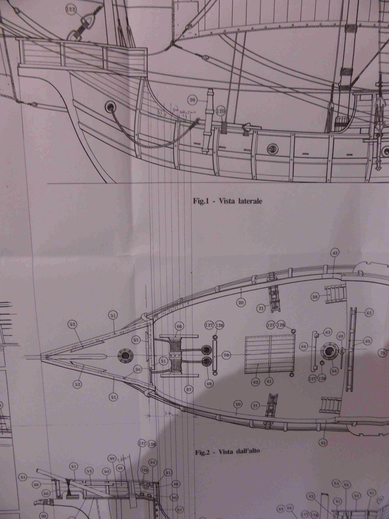 Construction du Santa Maria au 1/65 d'AMATI - Page 3 P1010419