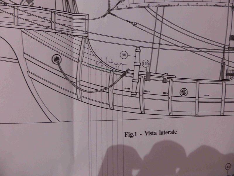 Construction du Santa Maria au 1/65 d'AMATI - Page 3 P1010421