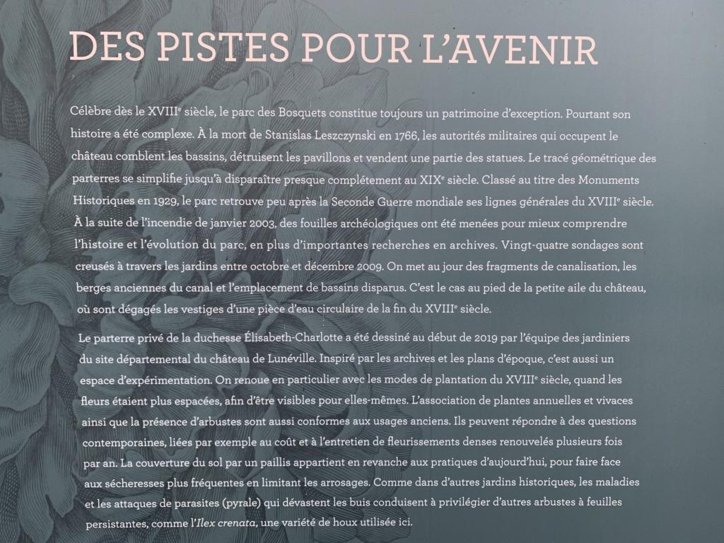 Restitution du jardin privé d'Elisabeth-Charlotte d'Orléans à Lunéville 04d4e710