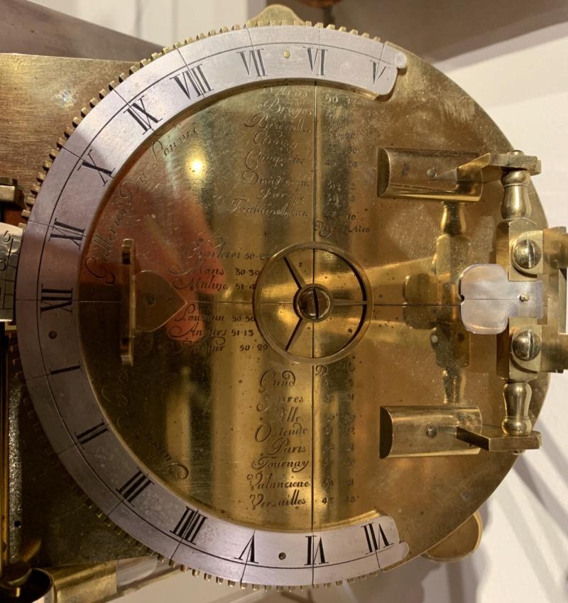 Latitudes et longitudes, les instruments de mesure du temps pour les voyages : chronomètre de marine, cadrans solaires et boussoles du XVIIIe siècle 1ada4010
