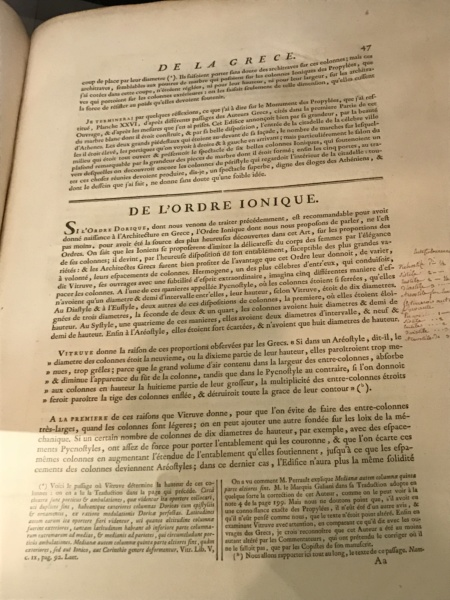 Jacques-François Blondel et l'enseignement de l'architecture 33605d10