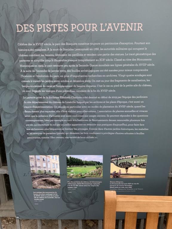 Restitution du jardin privé d'Elisabeth-Charlotte d'Orléans à Lunéville 458b1010