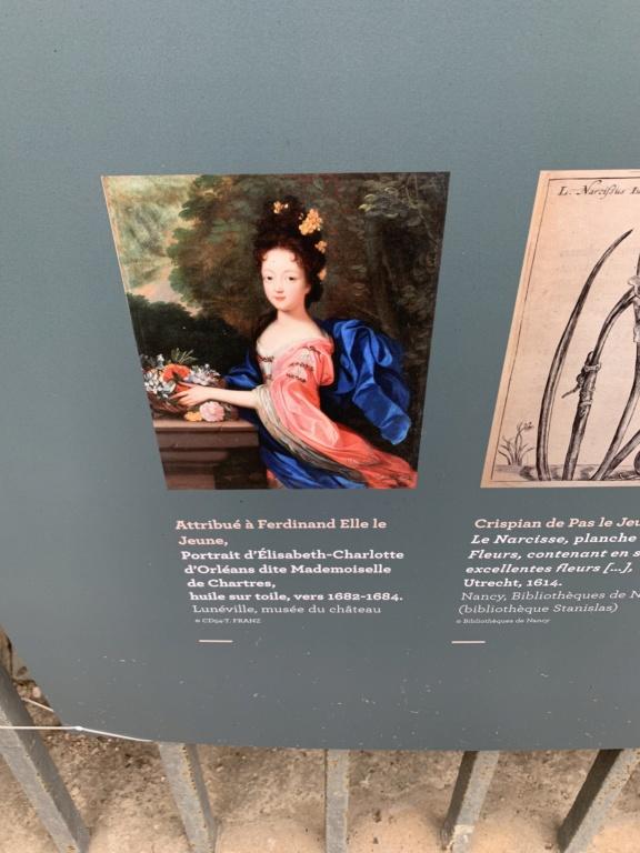Restitution du jardin privé d'Elisabeth-Charlotte d'Orléans à Lunéville 55de0e10