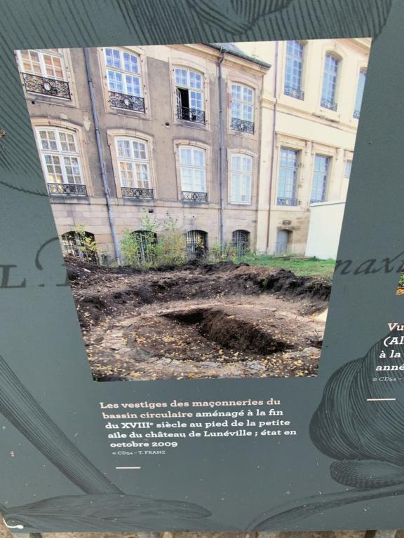 Restitution du jardin privé d'Elisabeth-Charlotte d'Orléans à Lunéville 8bac0310