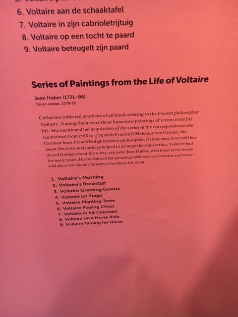 Catherine II  achète la bibliothèque de Voltaire Img_0520