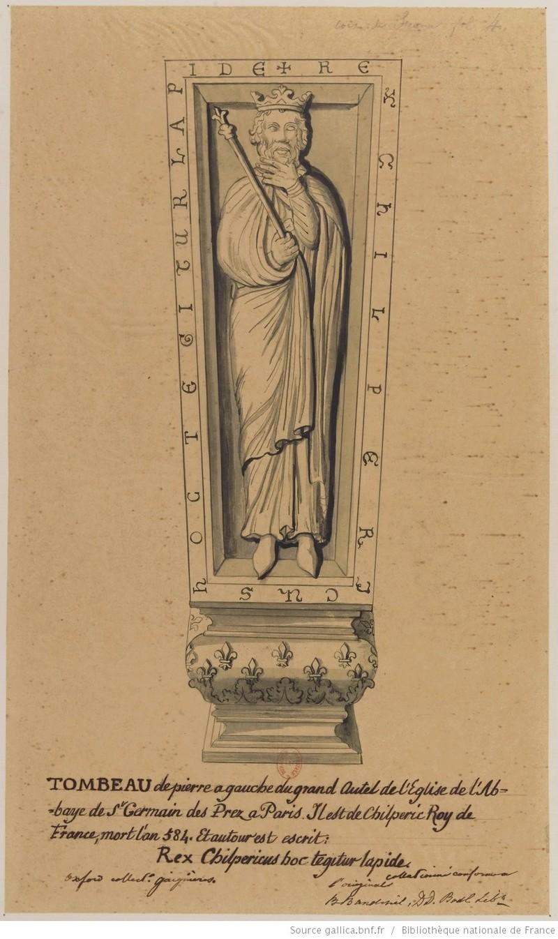 Les tombeaux mérovingiens de Saint-Germain-des-Prés Tombea10