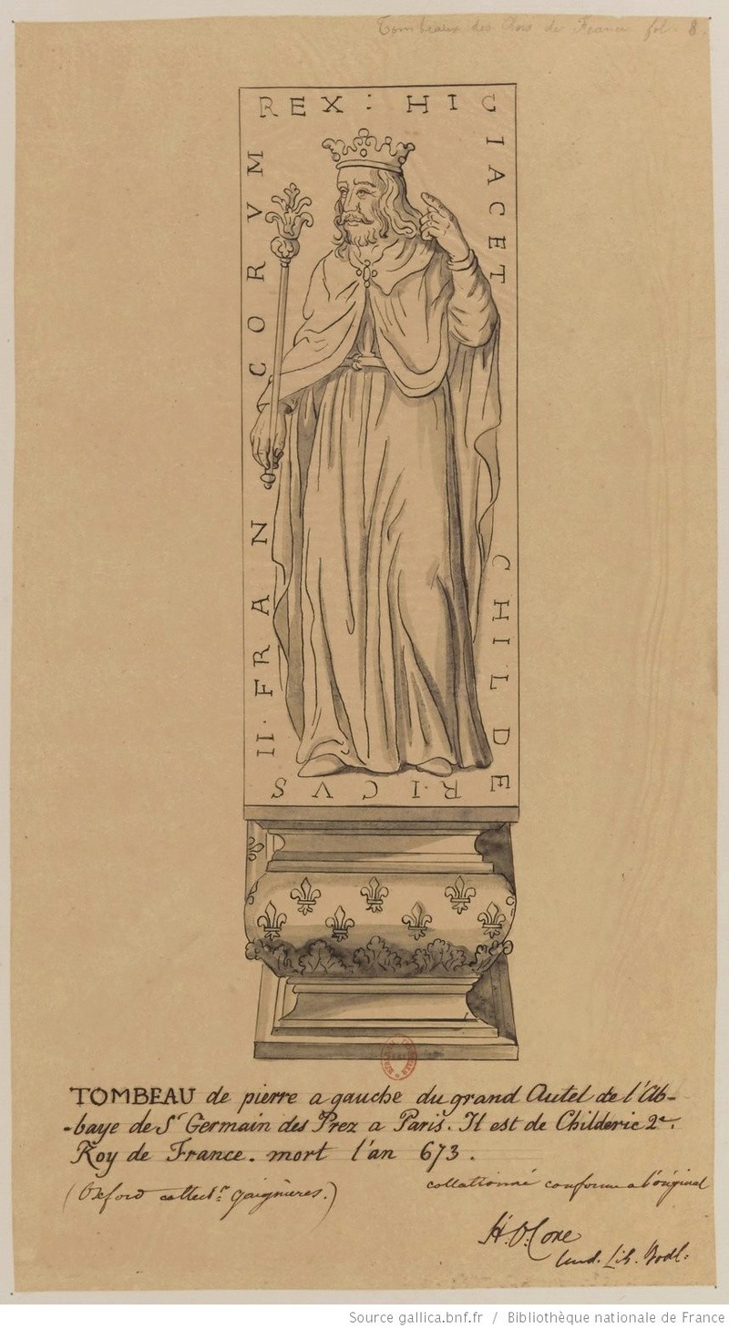 Les tombeaux mérovingiens de Saint-Germain-des-Prés Tombea15