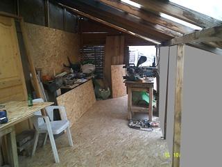 Agrandissement atelier du BISON ROUGE. Dscf0016