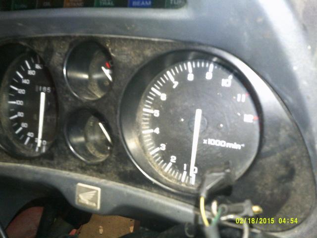 CBR 1000 F SORTIE DE GRANGE Racer concept Dscf0026