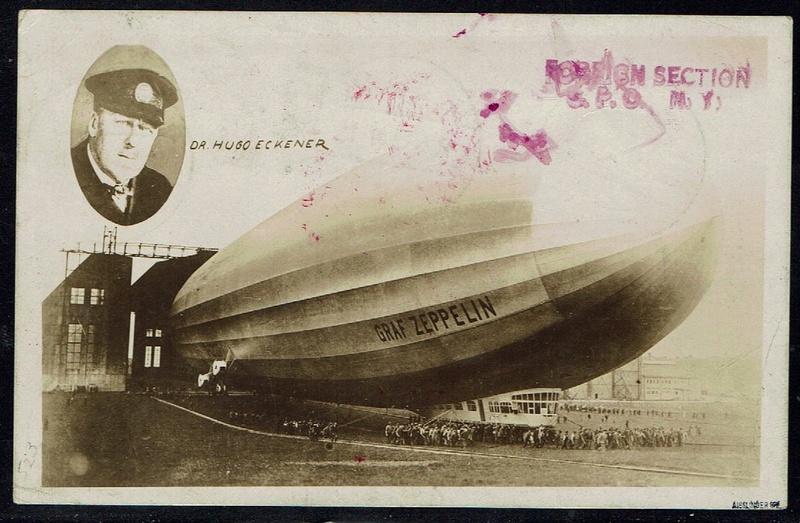 """nach - Südamerikafahrt 1930 (Rundfahrt-) Post nach Friedrichshafen"""" - Seite 6 57_p_k11"""