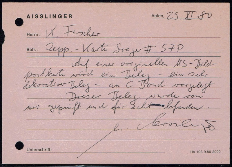 """nach - Südamerikafahrt 1930 (Rundfahrt-) Post nach Friedrichshafen"""" - Seite 6 57_p_k14"""