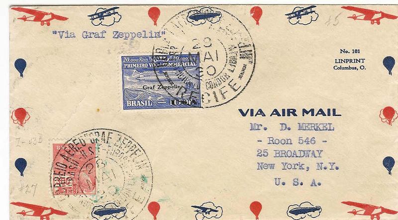 nach - Südamerikafahrt 1930, Post nach Lakehurst - Seite 4 59_f10
