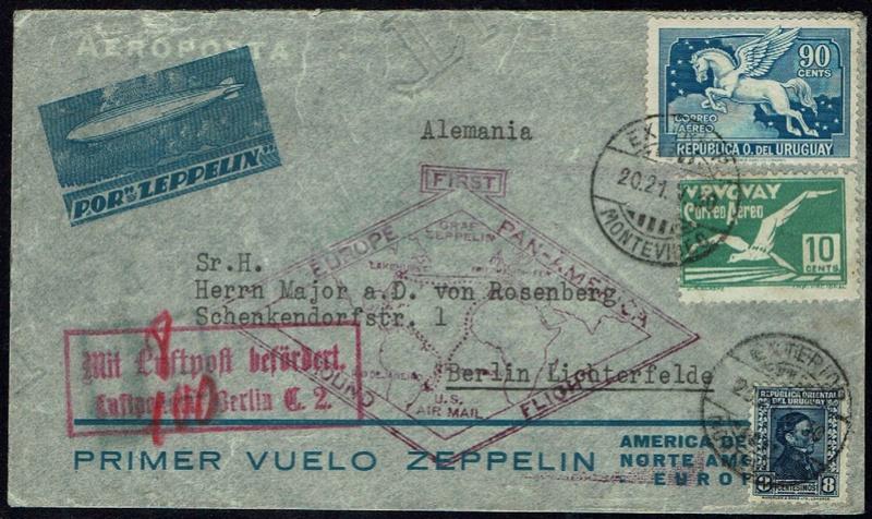 """Südamerikafahrt 1930 (Rundfahrt-) Post nach Friedrichshafen"""" - Seite 6 61_b_b10"""