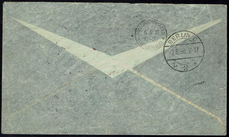 """nach - Südamerikafahrt 1930 (Rundfahrt-) Post nach Friedrichshafen"""" - Seite 6 61_b_b11"""