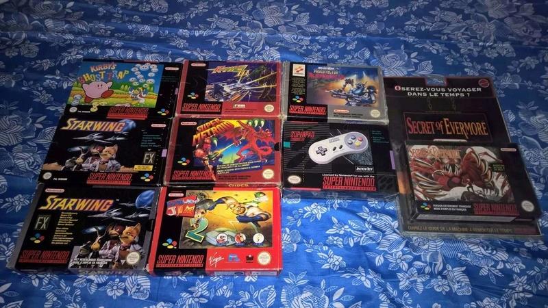 Estimation Collection SNES jeux et console  14466910