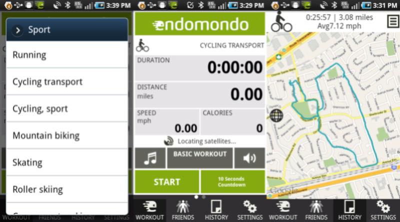 application pour enregistre vos randos Endomo12